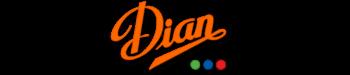 En la imagen podemos ver el logo de Dian