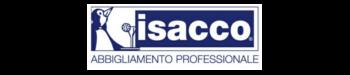 En la imagen podemos ver el logo de Issaco