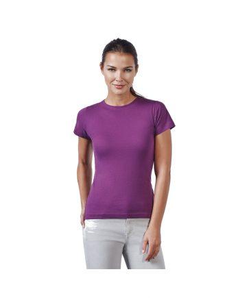 Camiseta mujer básica manga corta modelo entallado