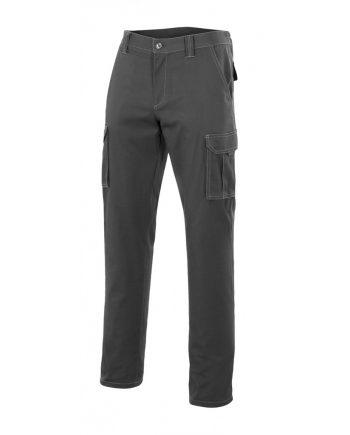Pantalón multibolsillo serie 103001 gris