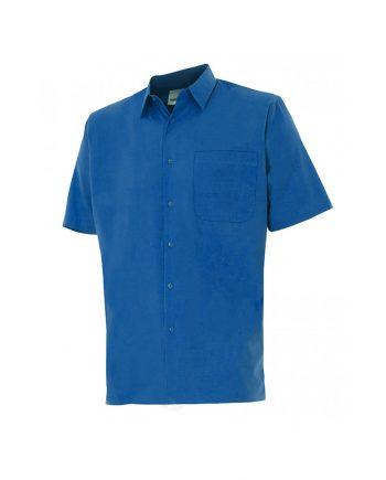 Camisa serie 531 manga corta azulina