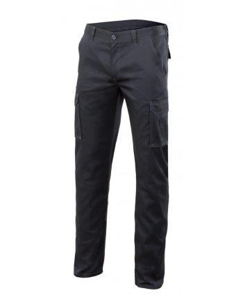 Pantalón strech multibolsillos serie 103002s color 0 negro