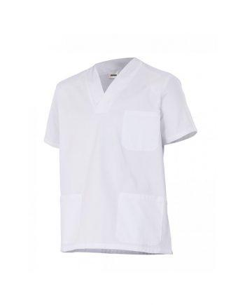 Camisola pijama manga corta modelo 587 blanco 7