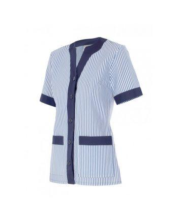 chaqueta manga corta cierre cremallera modelo 579 azul marino 1