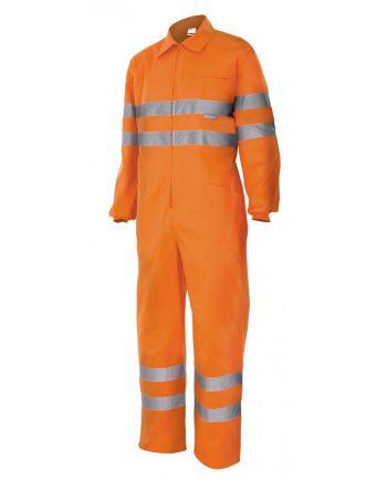 Mono alta visibilidad 150 naranja 19