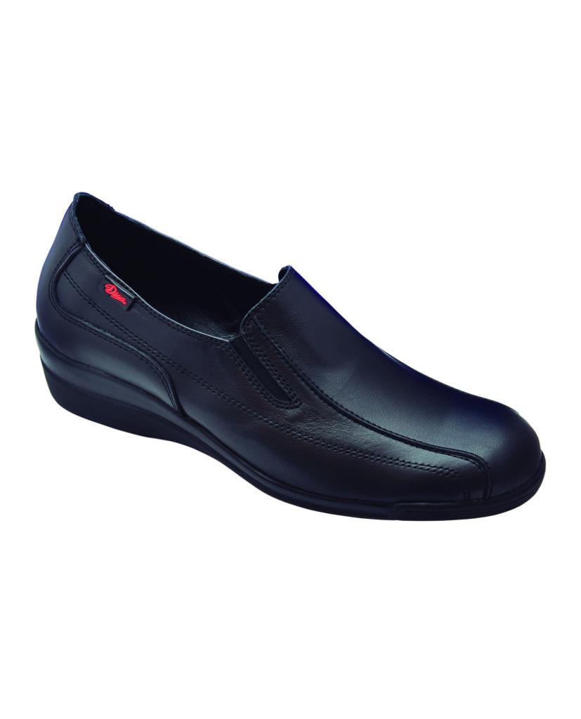 Zapato piel Marta negro