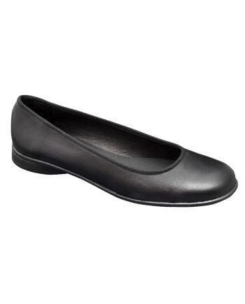 Zapato bailarina color negro