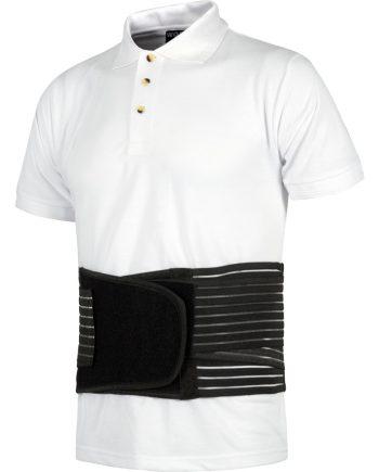 Faja lumbar protección en color negro modelo wfa301